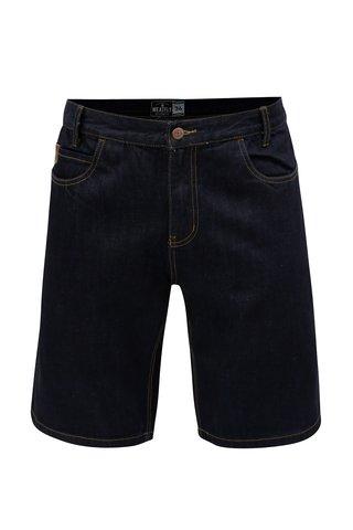 Pantaloni scurti albastru inchis din denim pentru barbati MEATFLY Just