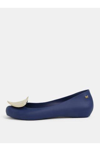 Balerini albastru inchis cu inima aurie Zaxy Pop Heart