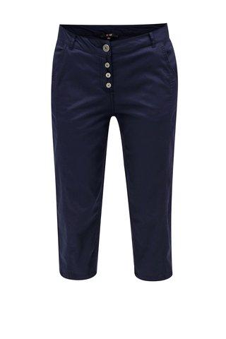 Pantaloni ¾ albastru inchis Yest