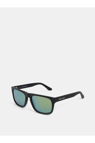 Zelenp-černé pánské sluneční brýle Horsefeathers Keaton