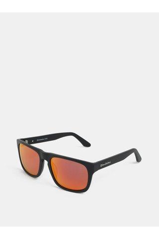 Ochelari de soare rosu-negru pentru barbati - Horsefeathers Keaton