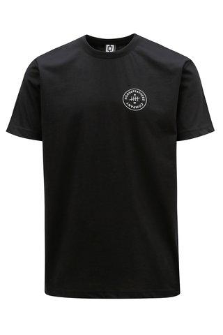 Tricou negru cu print pentru barbati - Horsefeathers Five