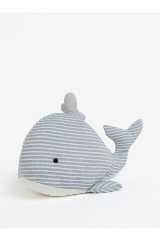 Opritor de usa albastru deschis cu dungi in forma de balena SIFCON