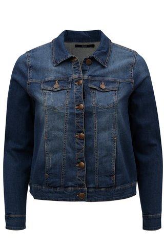 Jacheta de dama albastra din denim Zizzi