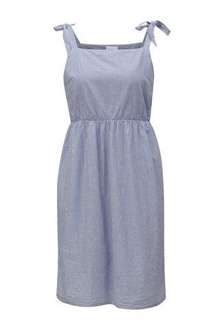 Rochie albastra in dungi - VILA Vipole