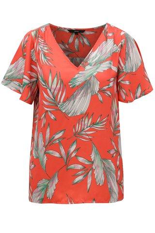 Bluza rosie cu model floral VERO MODA Maharete