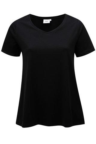 Tricou basic negru Zizzi