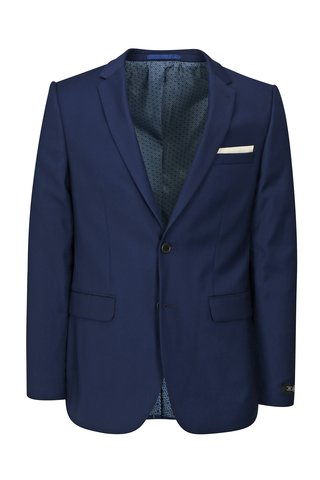 Sacou albastru inchis skinny formal Burton Menswear London