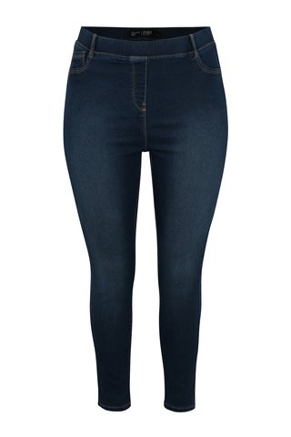 Jeggings albastru crop skinny simply be.