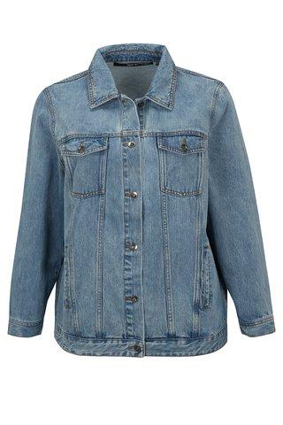 Jacheta albastru deschis din denim simply be.