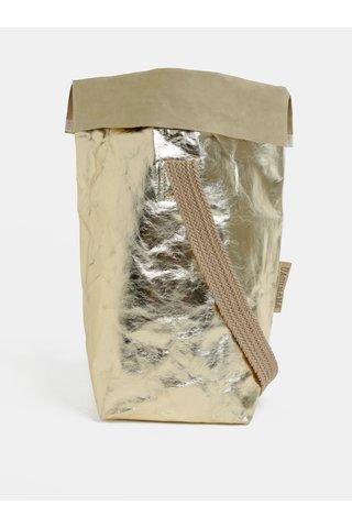 Taška s jedním popruhem ve zlaté barvě UASHMAMA® Carry one