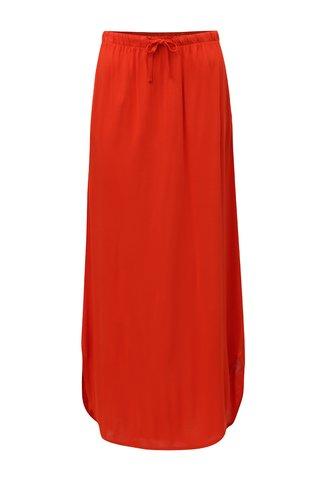 Rochie maxi rosie cu buzunare Jacqueline de Yong Safety
