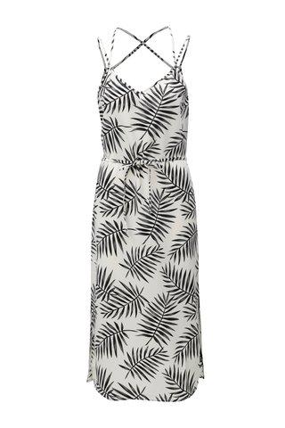 Rochie midi negru-alb cu model Jacqueline de Yong Carla