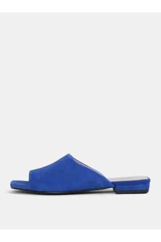 Papuci de dama albastri din piele intoarsa Vagabond Becky