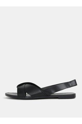 Sandale de dama negri din piele naturala Vagabond Tia