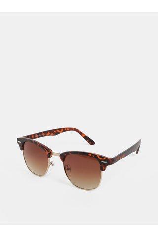 Ochelari de soare maro cu rama aurie ONLY & SONS Display