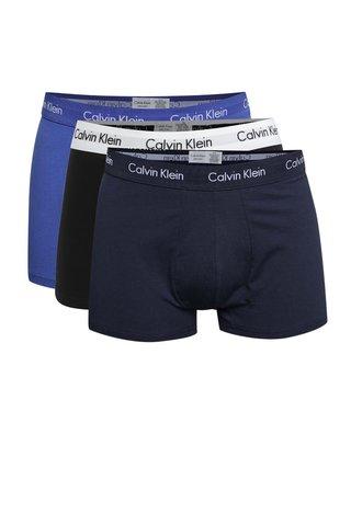 Set de trei boxeri albastri - Calvin Klein