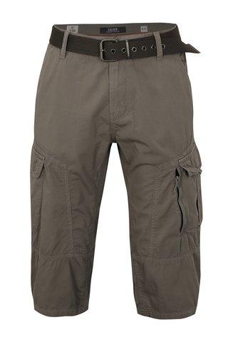 Pantaloni barbatesti scurti gri loose fit cu buzunare s.Oliver