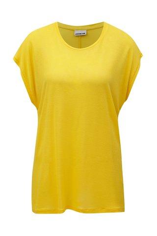Tricou galben oversized Noisy May Mila