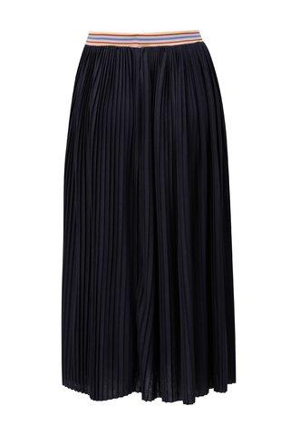 Tmavě modrá plisovaná sukně Rich & Royal
