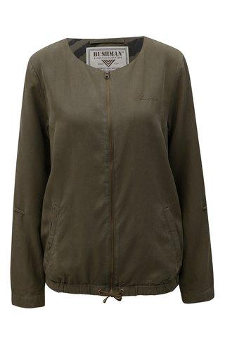Jacheta de dama verde inchis lejera BUSHMAN Espanola