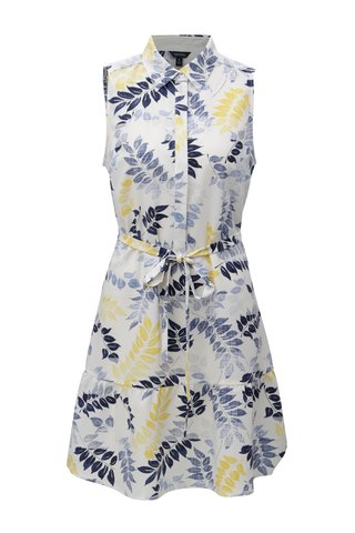 Rochie camasa alba cu model floral Nautica