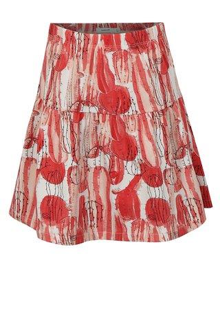 Bílo-růžová vzorovaná holčičí sukně name it Julie