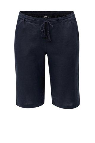 Pantaloni scurti albastru inchis din in Ulla Popken