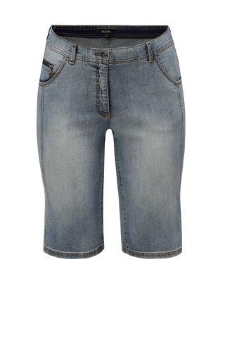Pantaloni scurti albastru deschis din denim Ulla Popken