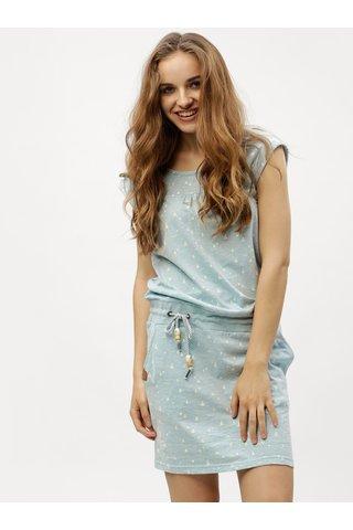 Rochie albastru deschis cu model Ragwear Penelope