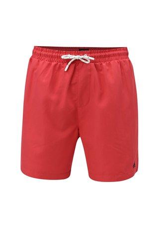 Pantaloni scurti de baie barbatesti rosii M&Co