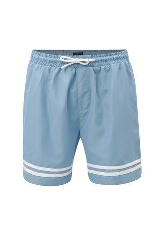 Pantaloni scurti de baie barbatesti albastri M&Co