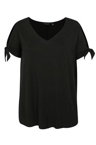 Tricou negru cu maneci scurte Dorothy Perkins Curve