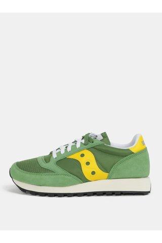 Tenisi barbatesti galben-verde Saucony Jazz O Vintage