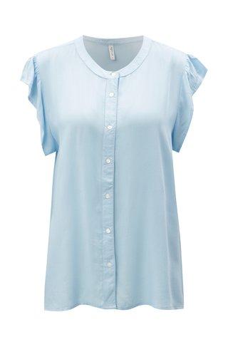Bluza albastru deschis cu maneci scurte Blendshe Elisa