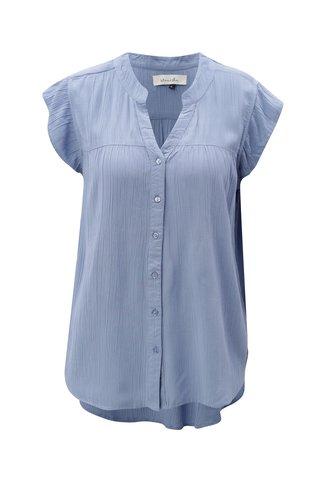 Bluza albastru deschis cu maneci scurte Blendshe Jelena