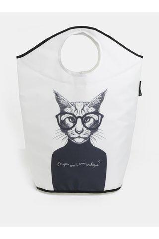 Cos crem pentru haine cu imprimeu pisica Butter Kings