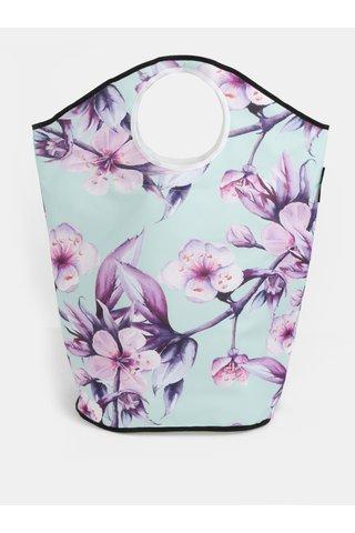Cos turcoaz pentru haine cu imprimeu floral Butter Kings