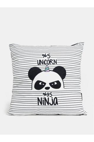 Perna crem-negru cu imprimeu panda Butter Kings