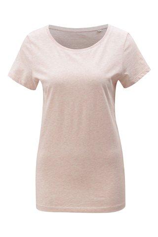 Růžové dámské žíhané tričko Stanley & Stella Wants