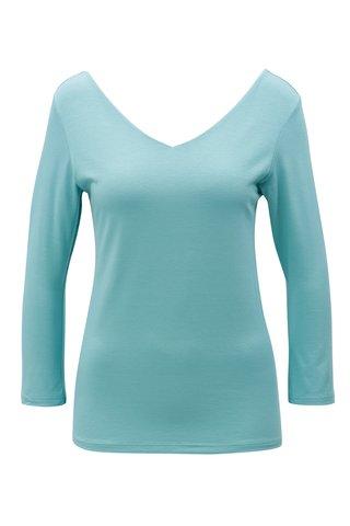 Tricou albastru deschis cu maneci lungi ZOOT