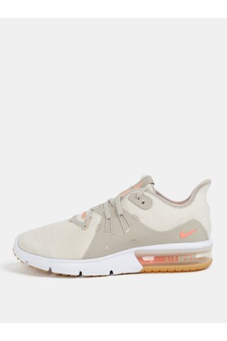 Pantofi de dama sport crem Nike Air Max Sequent