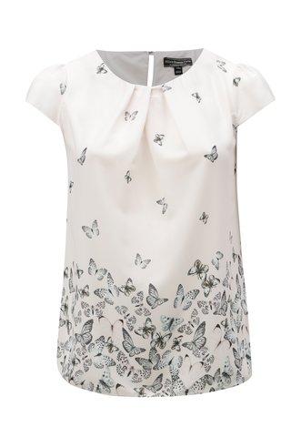 Bluza roz deschis cu model de fluturi Billie & Blossom Curve