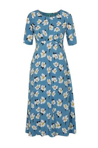 Rochie albastru deschis cu model floral Fever London Emilie