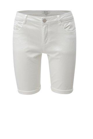Pantaloni scurti albi Dorothy Perkins Petite