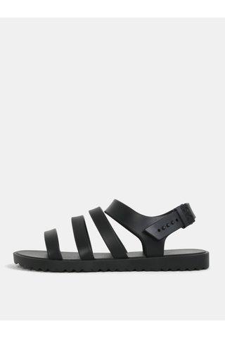 Sandale negre cu barete Zaxy Spring