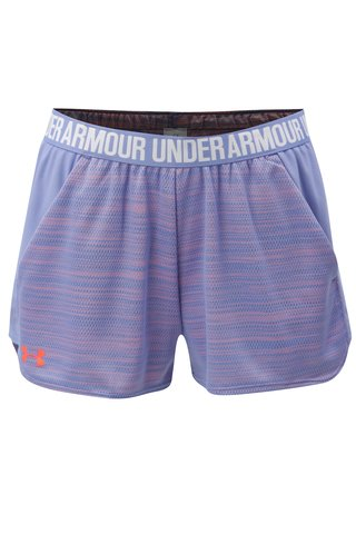 Pantaloni de dama scurti functionali oranj-albastru Under Armour