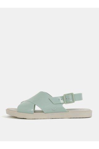 Sandale verde mentol Zaxy Match