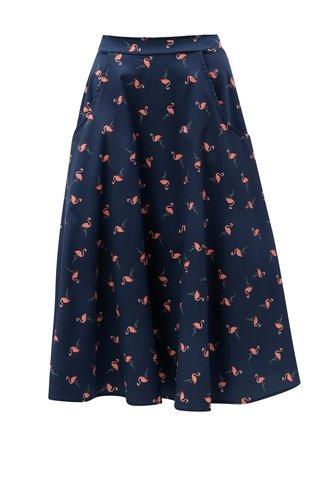 Růžovo-modrá vzorovaná sukně ZOOT