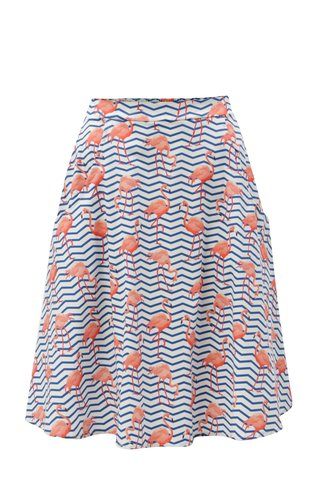 Modro-bílá vzorovaná sukně ZOOT